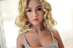 blonde love doll