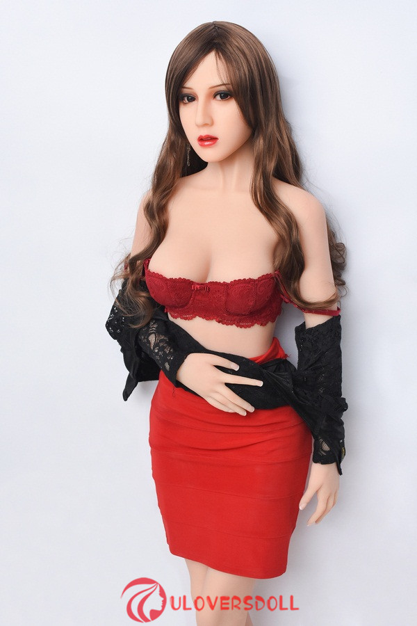 brown hair sex doll