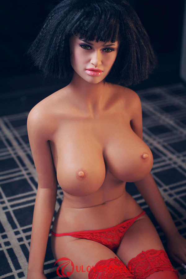 realistic D-cup breast doll