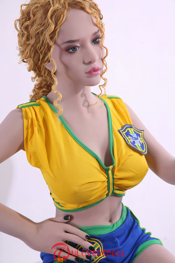 silicone blonde sex doll